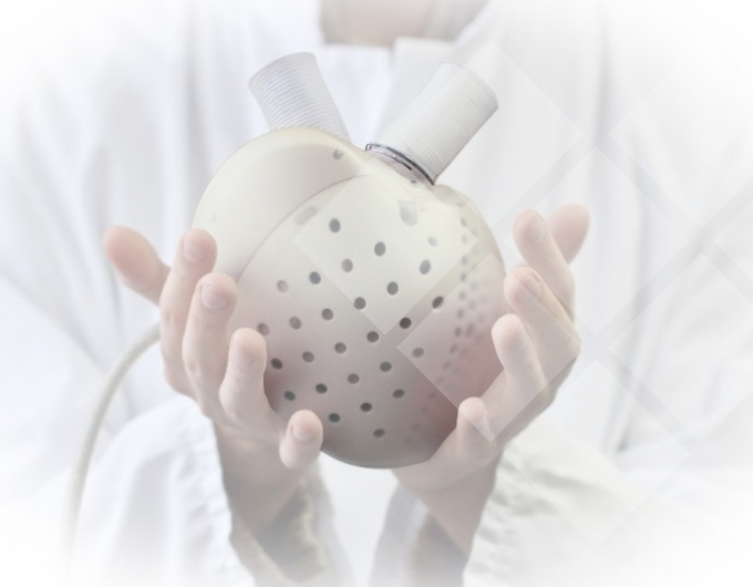 Carmat artificial heart failure implant prosthetic