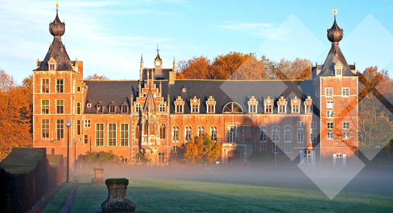 Castle Arenberg, purchased by the Katholieke Universiteit Leuven's predecessor in 1921
